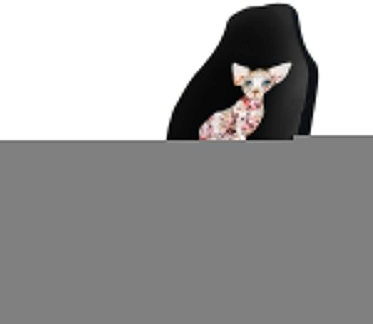 POI78 Sphynx Cat Fascinating Sale price Fashion Seat High quality Fu Pattern Auto Covers