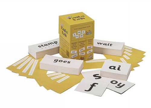 JOLLY PHONICS CARDS (CAJA)