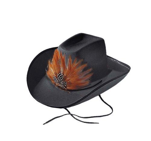 Cesar - K083-002 - Chapeau - Cowboy Bill - Noir