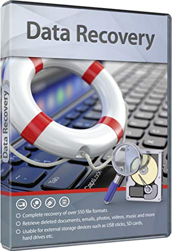 Data Recovery - Complete recovery of over 550 file formats for your Windows 10, 8, 7 PC - recover lost files from hard drives, SD cards and USB sticks