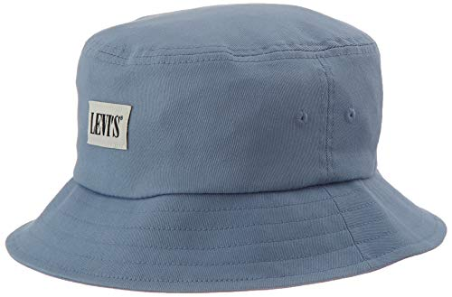 Levi's Unisex Serif Bucket Hat Ohrenschützer, himmelblau, 54