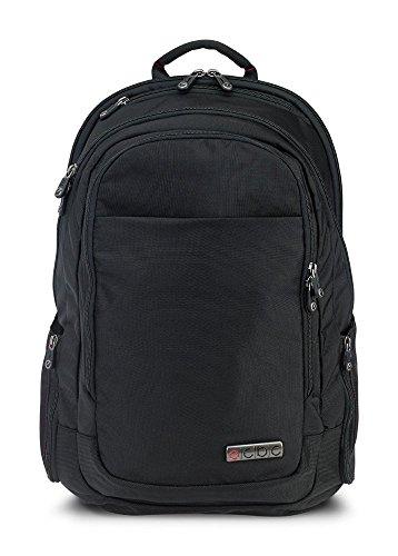 "ECBC Lance Daypack Travel Backpack, with 17"" Laptop Sleeve, TSA FastPass, Black"