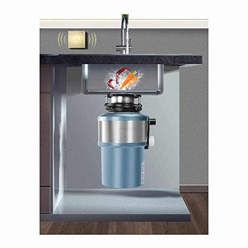 Afval van het Voedsel Crusher, Keuken voedselresten/Shredder Home/Intelligent Switch/Mute for Garbage Bescherming Cleaning / 560W High Power/Overload zhihao