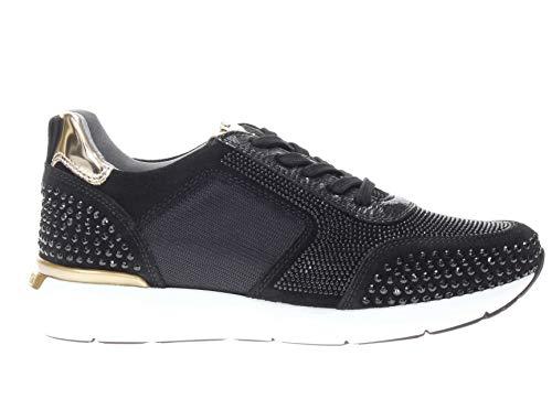 Nero Giardini Sneaker in Pelle Donna Nero 37