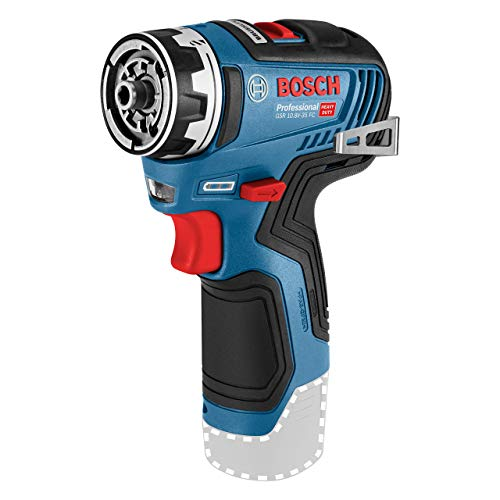 Bosch Professional 12V Akku-Bohrschrauber GSR 12V-35 FC (ohne Akkus und Ladegerät, im Karton, Bestellnr. 06019H3004) - FlexiClick System