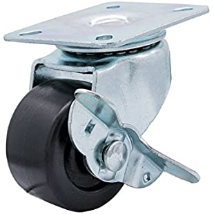 Plastic Casters Wheels Small Omni-directional Plastic Wheel 2 inch Heavy Truckle Trolley Cart Wheel Low Center of Gravity Wheel Replaceable S[are Furniture Roller Wheels for Cabinets, Machinery, Home TV, Cabinets, Self-Made Carts, Warehouse Shelves:Btc4you