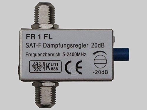 Dämpfungsregler, 45 - 2400 MHz, 0-20 dB