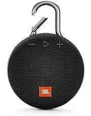 JBL Clip 3 Taşınabilir Bluetooth Hoparlör, Siyah