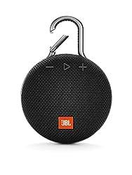 La JBL Clip 3 est une enceinte Bluetooth waterproof à mousqueton conçue pour être emportée partout avec vous - diffusion de musique non-stop pendant 10h Ultra portable & ultra robuste : conçue en matériaux résistants et dotée d'un mousqueton intégré,...