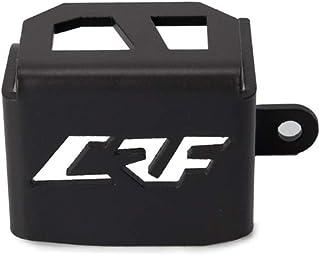 Festnight Motorrad Hinterradbremse Reservoir Guard Schutzh/ülle CNC Aluminium Fit F/ür Honda CRF1000L 16-17