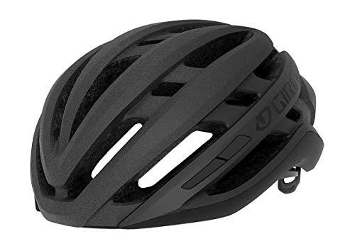 Giro Agilis Casco de Ciclismo Road, Unisex Adulto, Matte Black, M | 55-59cm