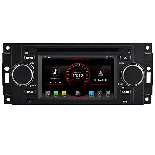 Autosion Android 8.1, Auto-Dvd-Player, Gps, Stereo, Navi-Radio, Multimedia, Wireless-Lan Für Chrysler Pt Cruiser Jeep Compass Grand Cherokee Kommandant Patriot Dodge Ram Dodge-Lad