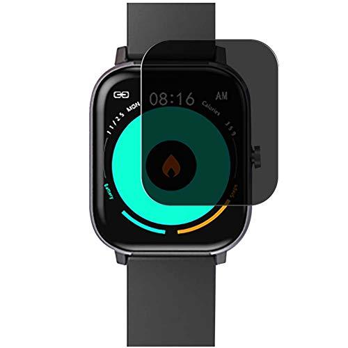 Vaxson TPU Pellicola Privacy, compatibile con Voigoo DT35 1.54' Smartwatch Smart Watch, Screen Protector Film Filtro Privacy [ Non Vetro Temperato ]