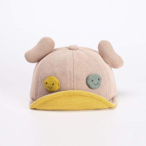 Sombrero para niños otoño Nuevo algodón Todo fósforo Lindo Smiley ala Suave Gorra de bebé tentáculos Gorro de bebé cálido