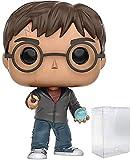 Funko Pop! Movies: Harry Potter - Figura de vinilo de Harry Potter con profecía (con funda protectora de caja de pop)
