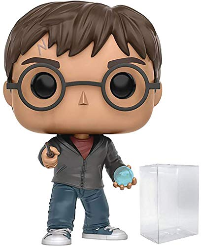 Funko Pop! Movies: Harry Potter - Harry Potter with Prophecy Vinyl Figure (Bundled with Pop Box Protector Case) image