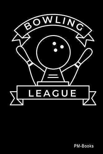 Bowling League: Blanko A5 Notizbuch oder Heft für Schüler, Studenten und Erwachsene (Logos und Designs, Band 406)