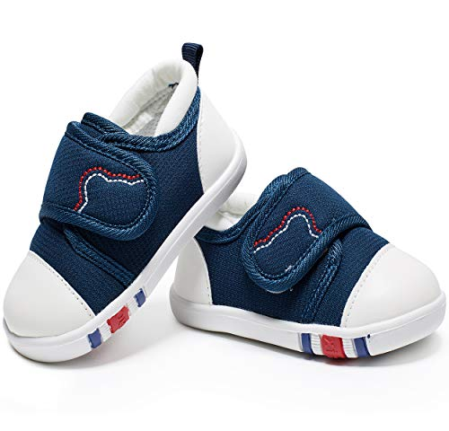 HLMBB Baby Boy Shoes for Girls Boy 0 6 9 12 18 24 Months 1 2 Years Old Size 3 4 5 6 Blue
