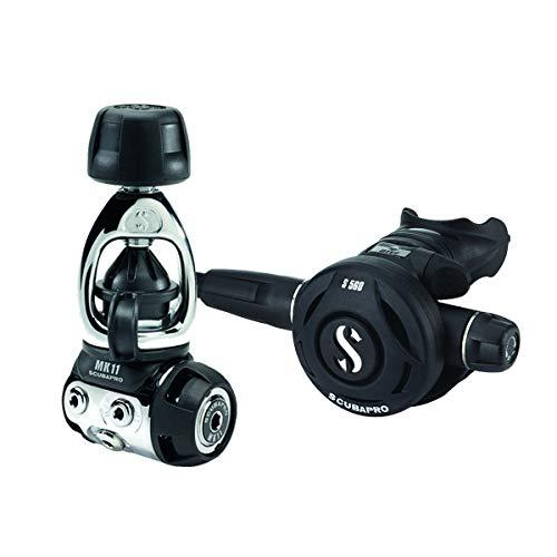 SCUBAPRO 1065568 MK11/S560 Dive Regulator System, INT, Black, One Size