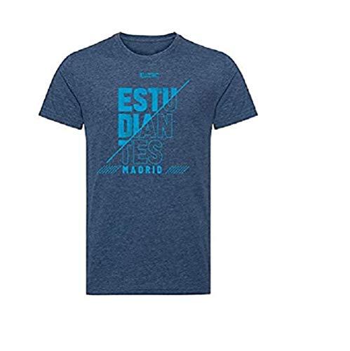 Movistar Estudiantes Camiseta Casual Azul Temporada 19/20