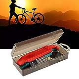 SALUTUYA El neumático de la Bici de la Caja de los PP equipa el Remiendo del neumático, para la Bicicleta de la Bici de montaña(Black)