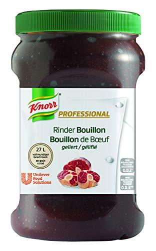 Knorr Professional Bouillon Rind (geliert, vollmundiger Geschmack, 1 EL Bouillon genügt für 1 L Wasser) 1er Pack (1 x 800g)