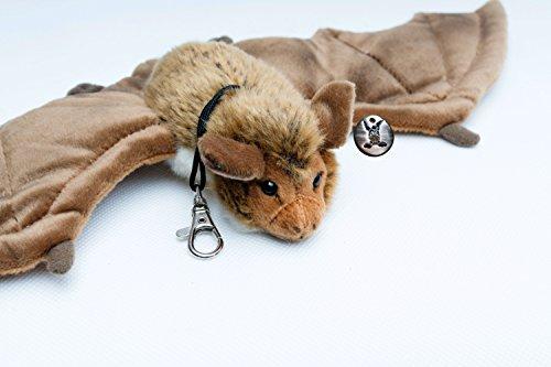 Kuscheltiere.biz Fledermaus Samira Bechsteinfledermaus 41 cm Lebensgroß Plüschtier