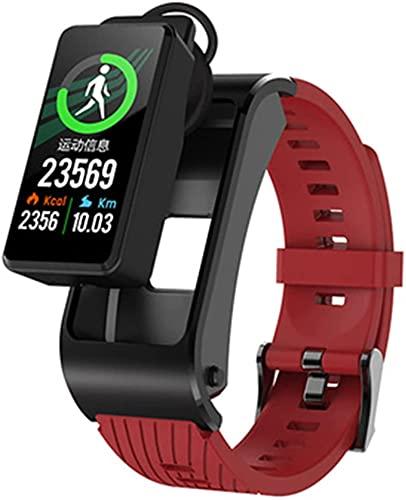 MXCHEN H21 Ritmo cardíaco y de presión Arterial Recordatorio de Llamada Bluetooth Multifunción Multifunción Reloj de frecuencia cardíaca y recordatorio de Llamada de presión Arterial para Android iOS