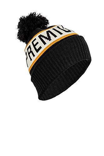 Nitro Snowboards Henchman Hat gebreide muts, zwart (Black Black), One Size (Grootte van de fabrikant: OS) voor heren