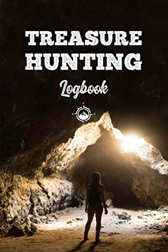 Treasure Hunting Log Book Journal Notebook Diary Planner - Misterious Cave: Geo Hunt Record with 120 Pages In 6