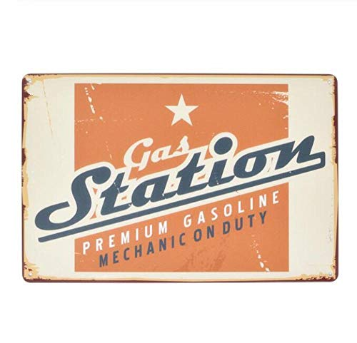 qnmbdgm wandbord van metaal, vintage-borden, decoratief, diesel, motorolie, muurstickers, garage, poster, Rod Shop Decor