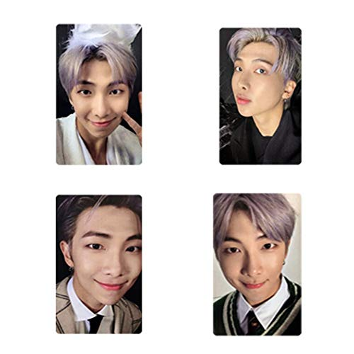 Youyouchard Kpop BTS Photo Card 'MAP of The Soul : 7' Official Mini Photocards Lomo Card World Card Sticker Transparent Paper Postcard Set Gift for Army(VER.RM)