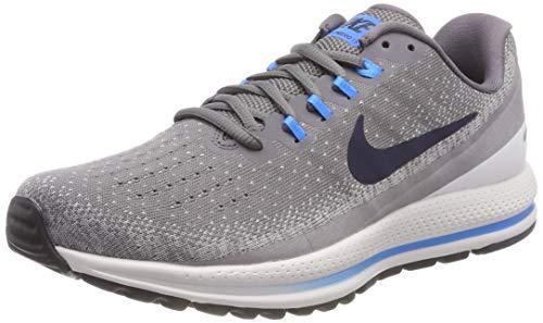 Nike Men's Herren Laufschuh Air Zoom Vomero 13 Training Shoes, Grey (Gunsmoke/Obsidian-Atmosphere G 007), 12 UK