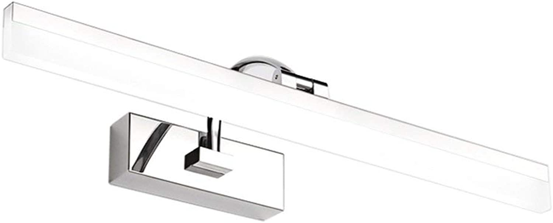Spiegelleuchte energiesparender LED-amerikanischen Spiegel Lampen wasserdicht Beschlagfrei Badezimmer Spiegelschrank licht Einfache europische Schminktisch Lampen (weies Licht) (Gre  60