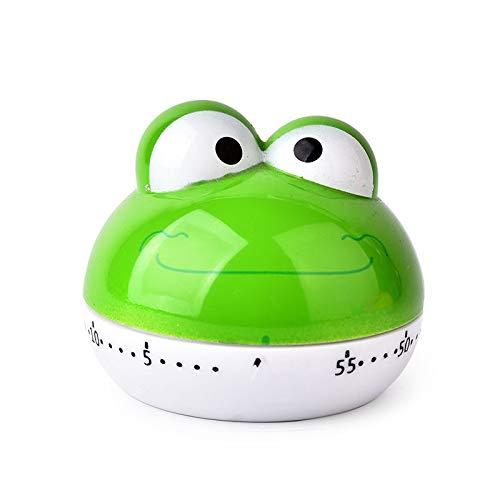 JJY Cocina Que Cocina la Alarma de Cuenta Regresiva del Temporizador Contador de Tiempo mecánico Cocina de la Cocina 1pc Accesorios Inicio Tienda (Color : Frog)