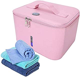 UV Sanitizer Bag, Multi-Function LED Ultraviolet Light Bag, Portable USB UV Sanitizer Case for Mobile Phone, Feeding Bottl...