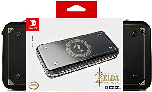HORI Nintendo Switch Alumi Case (Zelda Edition) Officially Licensed By Nintendo - Nintendo Switch