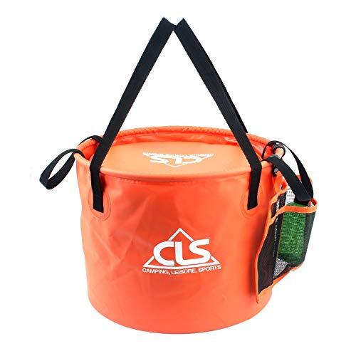 chinawh Kessel 30L 4 in 1 PVC Außen Folding Doppelabflusskorb Camping Fischen Gear Bag