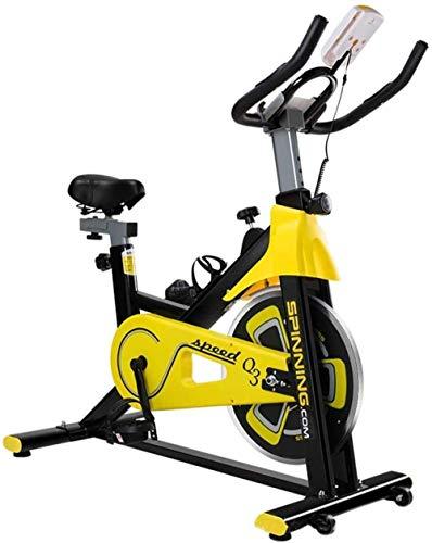 YLJYJ Bicicleta giratoria vertical para ejercicio aeróbico, ideal para el hogar, para uso en interiores, para montar en interiores y estudios