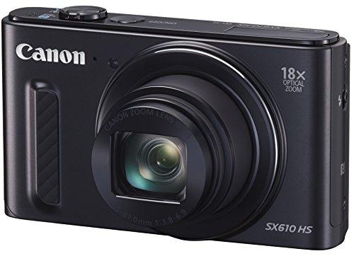 Canon digital camera PowerShot (power shot) SX610 HS black PSSX610HS (BK) - International Version (No Warranty)