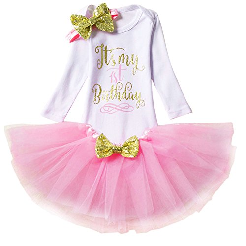 Bebé Niñas 1er / 2 ° Cumpleaños Princesa Trajes