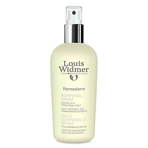 Louis Widmer Remederm Koerperoel Spray leicht parfuemiert, 1er Pack (1 x 150 ml)