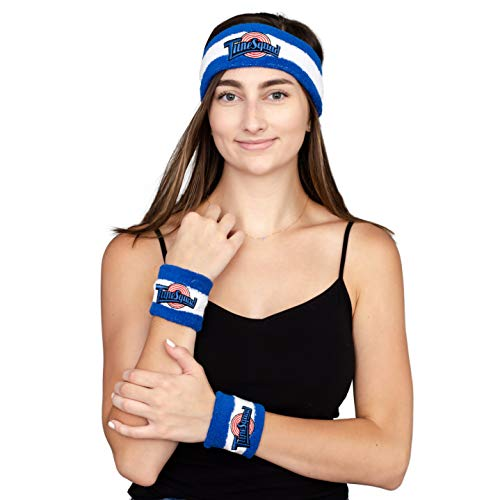 Space Jam Headband & Wristband Terry Knit Set