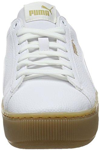 PUMA Vikky Platform VT, Zapatillas Mujer, Blanco White White, 39 EU