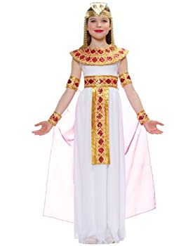 Pink Cleopatra Egyptian Queen Kids Costume
