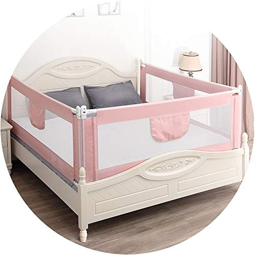 Buy Bargain XJJUN Bed Rail Vertical Lift 3 Sides Baby Guard Height Adjustable Universal Bed Perspect...