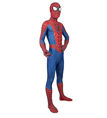 Kind Volwassen Spiderman Homecoming Kostuum Halloween Carnaval Cosplay Spiderman pak Spandex/Lycra 3D Print Spiderman XXL Volwassenen