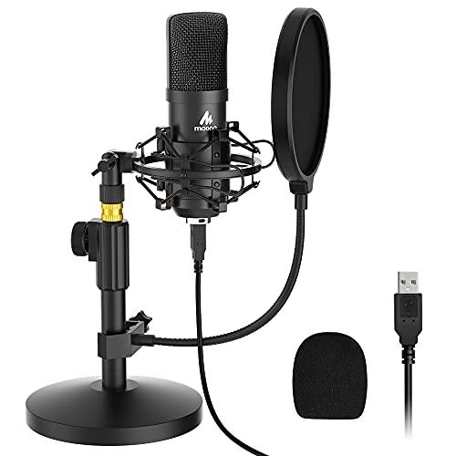 MAONO AU-A04T Micrófono USB de Condensador para estudio, Kit de...