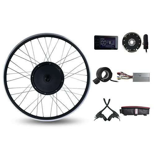 Kit de conversión de Bicicleta, Motor de Cubo sin Engranajes sin escobillas de Rueda giratoria Trasera de 48 V 1000 W, con Pantalla GD01, Kit de conversión de 27,5 Pulgadas