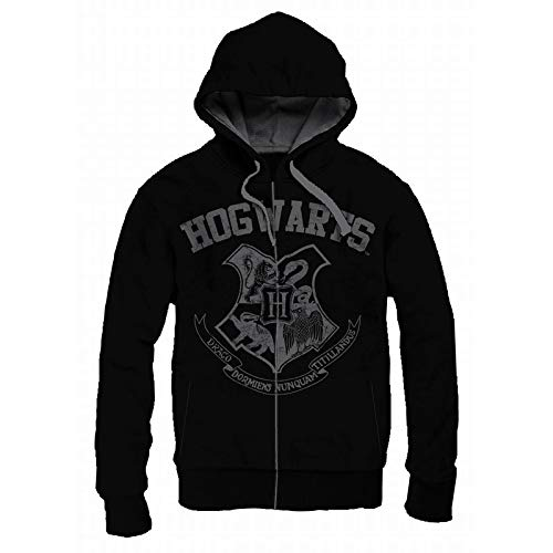 Harry Potter Hooded tg. L Sweater Hogwarts School Vintage - official product